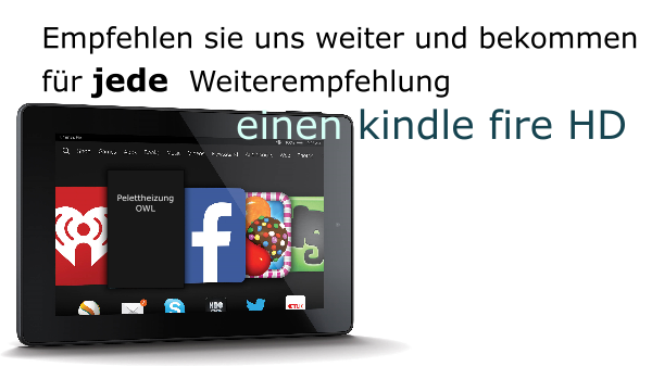 Kindle fire HD Gratis